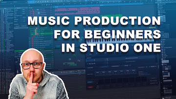 music production for beginner studio one