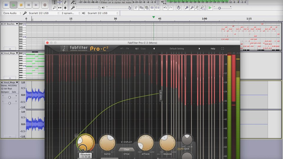 Can you produce music with Audacity?