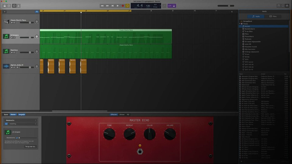 Garageband. Best free DAW software for music production 2020?