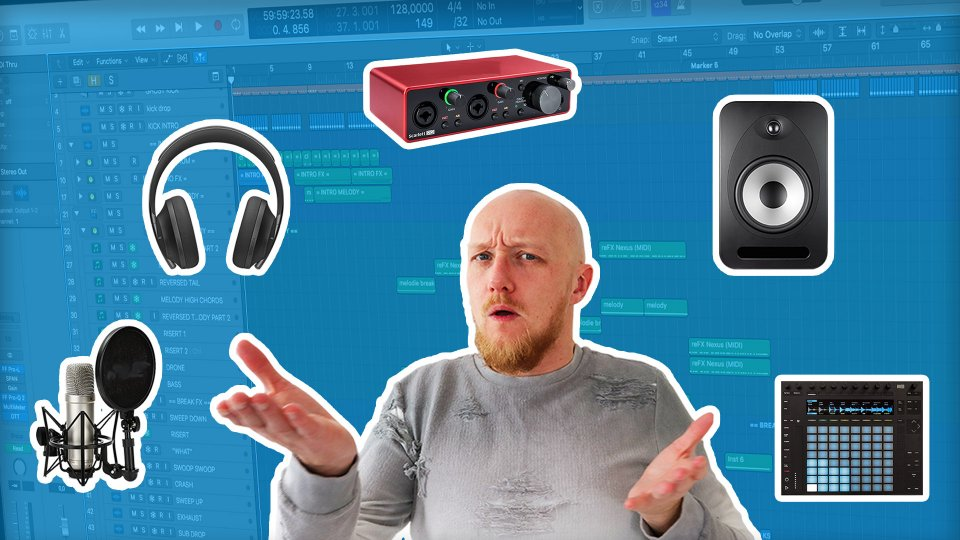 Music production equipment for beginners you REALLY need