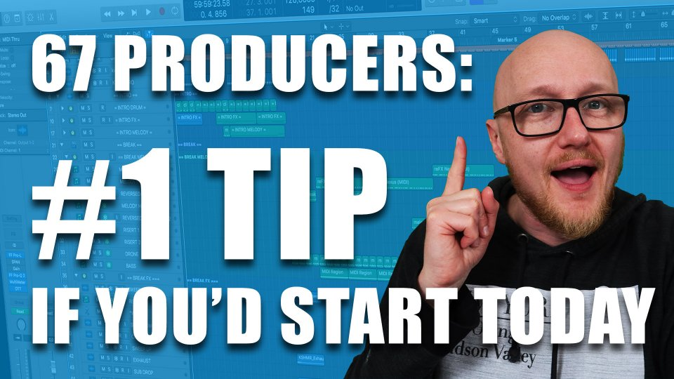 #1 Music production tips for beginners: 67 producers answer