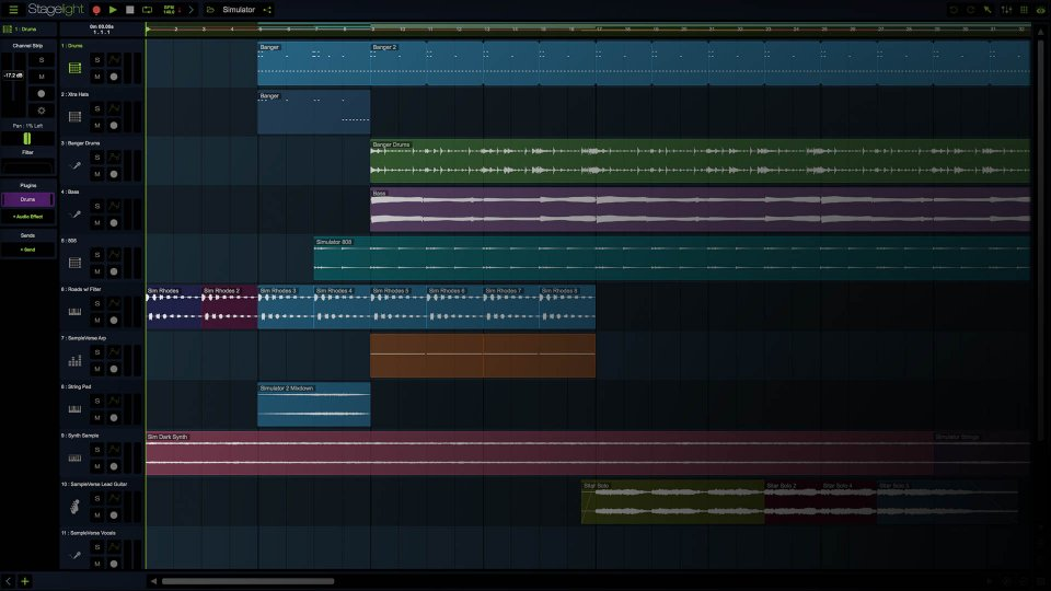 Stagelight review: Best free DAW software for music production?