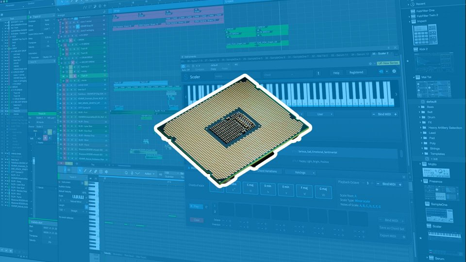 The best processor for music production? AMD or Intel?